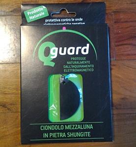 Q Guard Ciondolo Mezzaluna