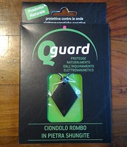 Q Guard Ciondolo Rombo