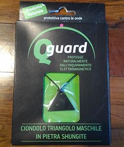 Ciondolo in Shungite a forma di triangolo